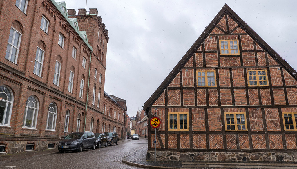Day trip to Lund Sweden from Copenhagen and Malmo - Historic cobblestone streets with half timber houses