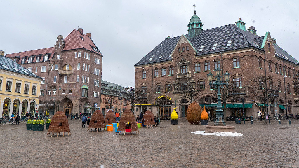 Lund Stortorget - Day trip to Lund Sweden from Copenhagen and Malmo