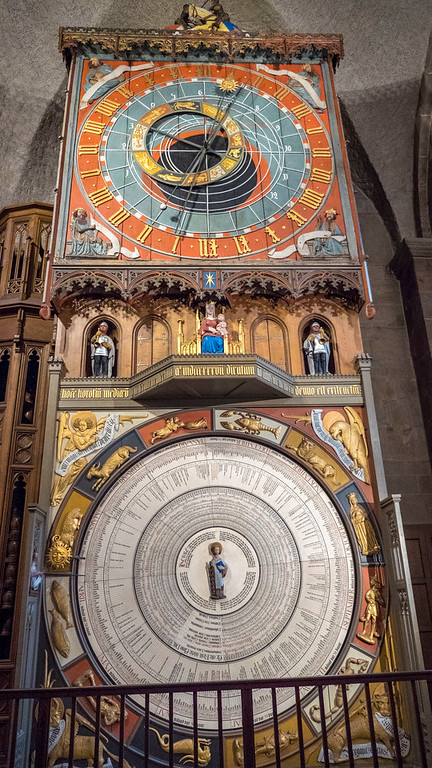 Astronomical clock of Lund Cathedral - Lund Sweden on a day trip from Copenhagen