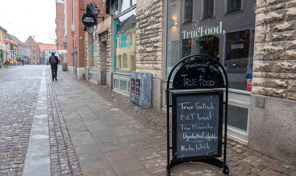 True Food vegan cafe in Lund Sweden - Plant based restaurant Lund