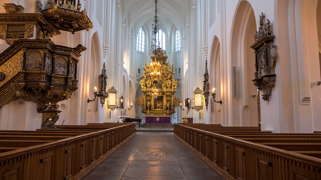 St Peter's Church - St Petri - Malmo Sweden - Malmo attractions and what to see in Malmo