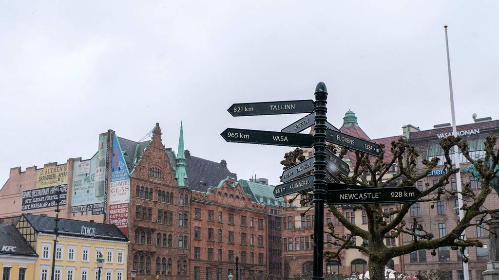 How to get from Copenhagen to Malmo