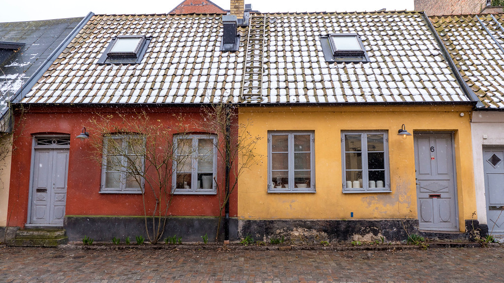 Day trip to Malmo from Copenhagen - Gamla Vaster - Malmo Old Town - Colorful and cozy houses
