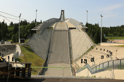 Norway  Homenkollbakken Ski Jump  This jump has been rebuilt many times since it was used to host the 1952 Winter Olympics and most recently the 2011 FIS Nordic World Ski Championships