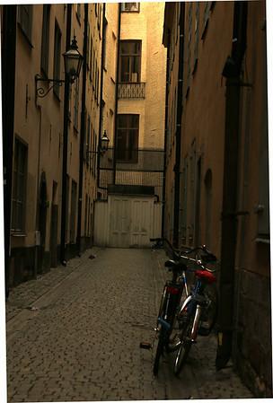 Gamla Stan, Sweden  The executioner's home is behind this door.