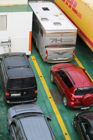 Vehicles on the Gotland Ferry