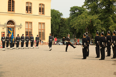 Drottningholms Palace / Drottningholms Slott  Changing of the guard.