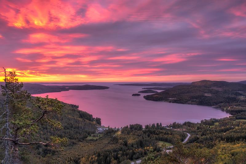 Daybreak on Skuleberget