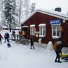 Popular cross-country ski stop