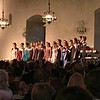 Choral singing during the banquet. The opera singer from the promotion ceremony had a reprise as well.