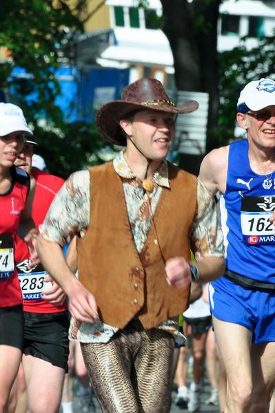 Running cowboy