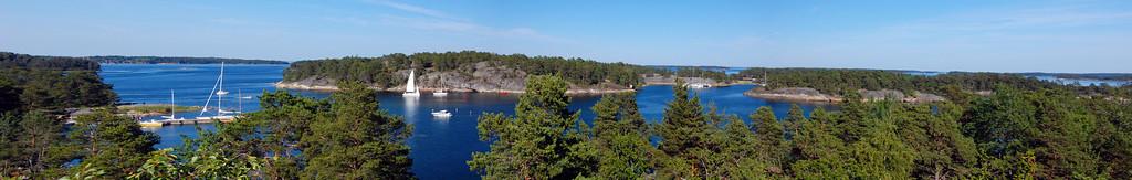 Finnhamn Panorama (click to expand)