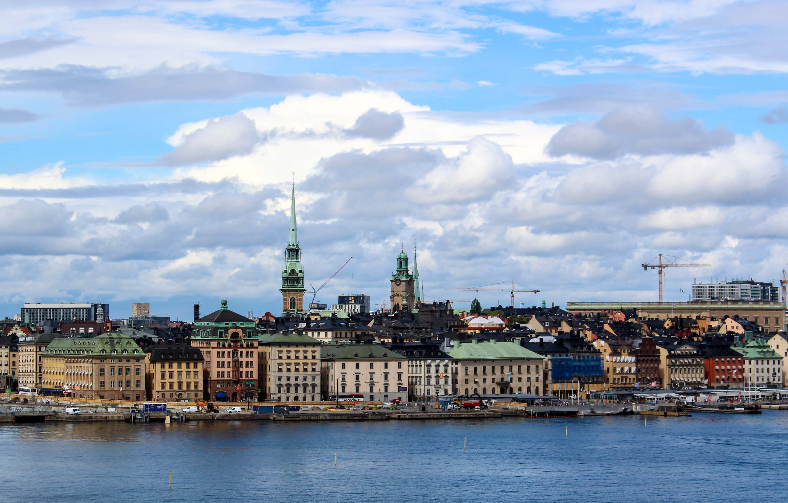 tips for traveling alone for the first time: choose a safe destination like stockholm