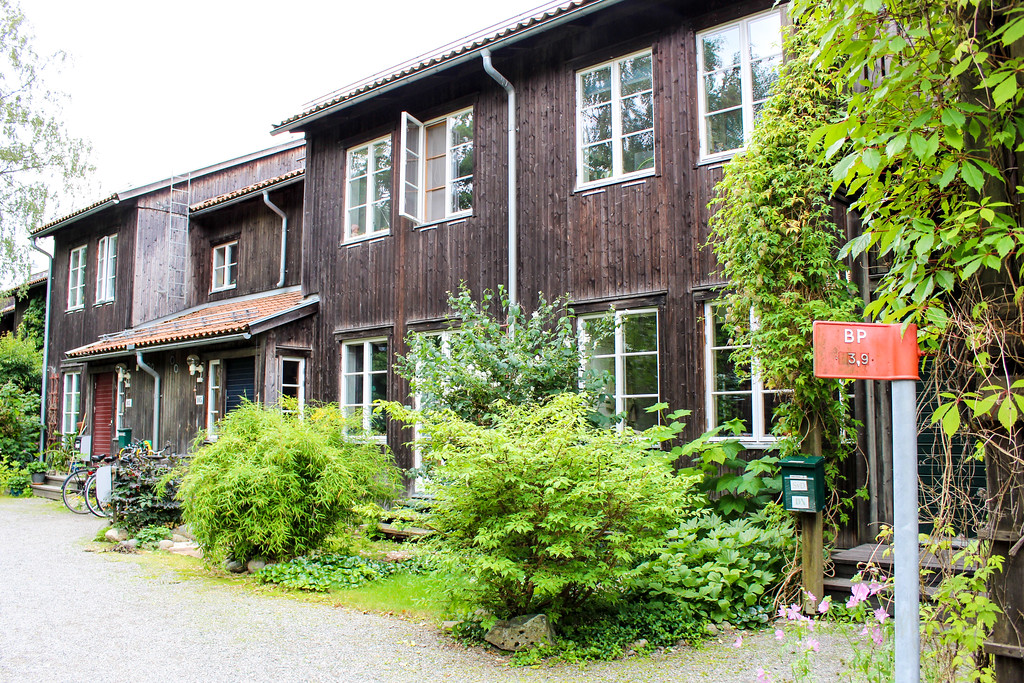 The eco village is a must do in Stockholm