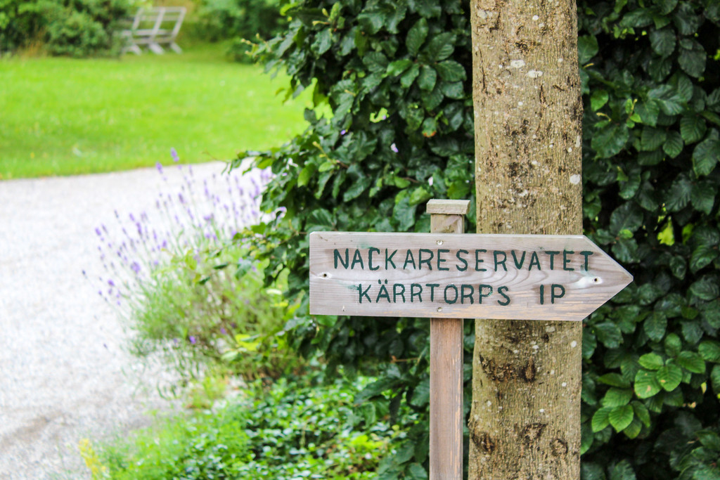Travel in Stockholm and take a stroll through the Eco Village