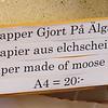 Sign in printer museum, Linkoping.