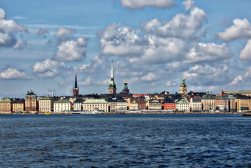 Stockholm by ferry