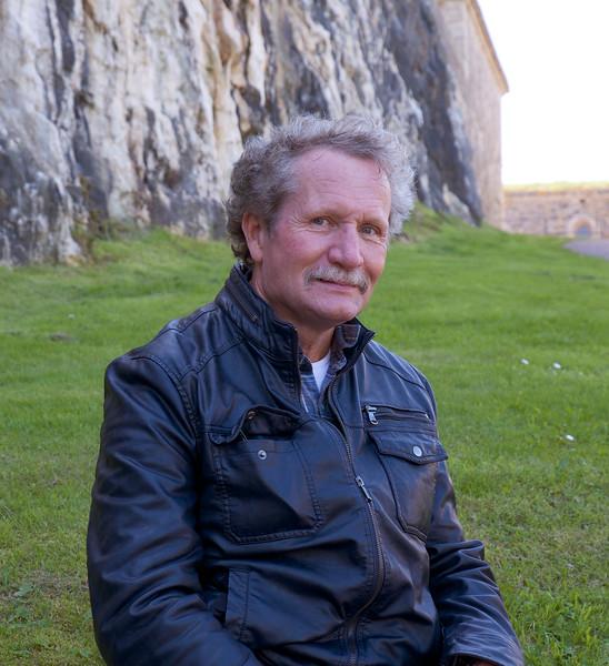 Dave Sederquist at Carlesten Prison.