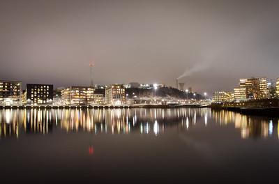 Sickla Från Hammarby Sjöstad