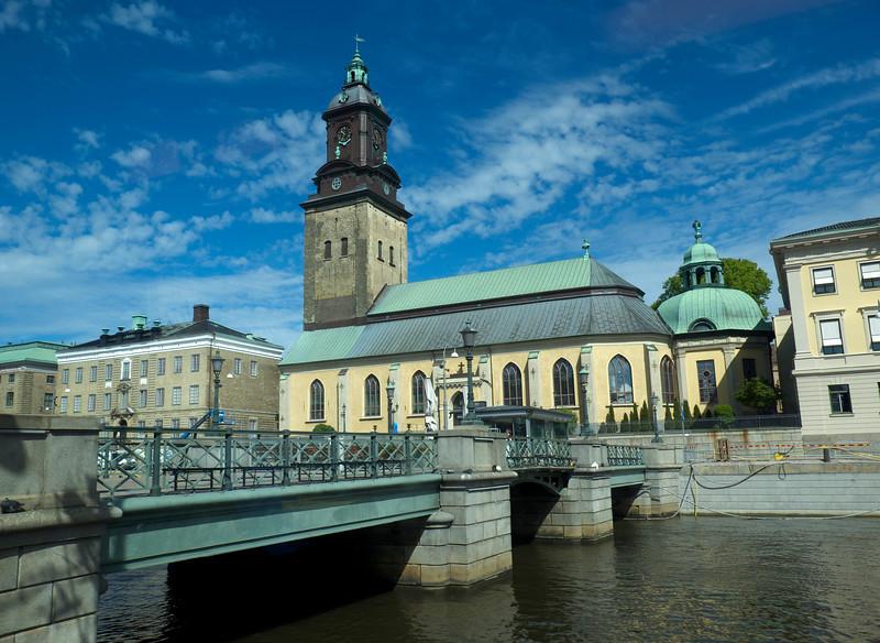 Old church in central Gothenburg.