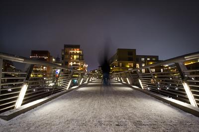 Bridge In Hammarby Sjöstad