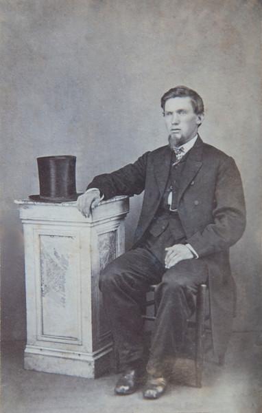 Franz Otto Sederquist, our great grandfather.