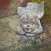 Stone angel, island of Marsden.