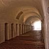Main hallway, convent of St. Birgitta.