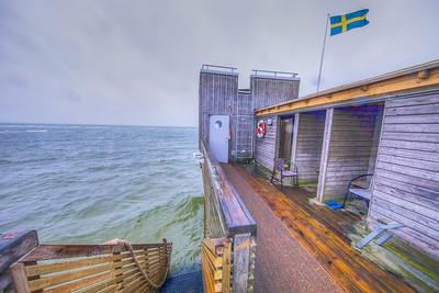 Långa bryggan, Sweden