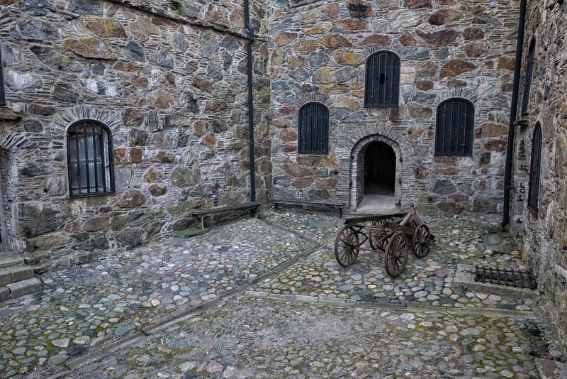 Courtyard, Carlesten Fortress