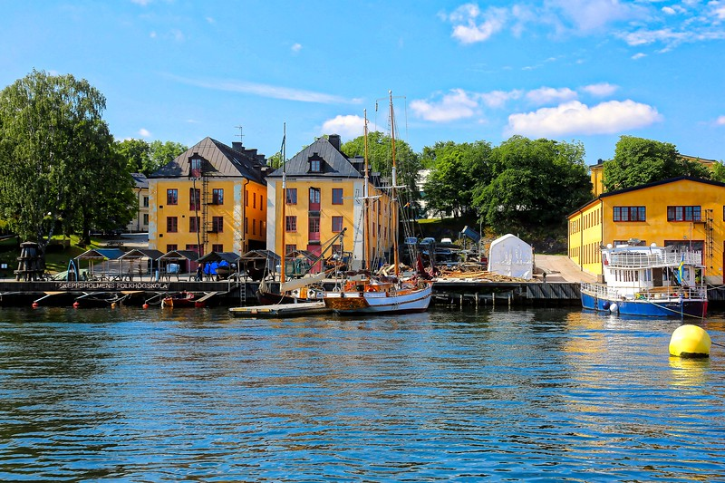 Boats and Buildings - Stockholm