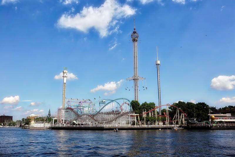 Grona Lund Amusement Park