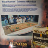 In 1993, on the company's 60th birthday, made a crisp bread, shown here, sized 15 by 6 feet, made a The Guinness records for largest bread.