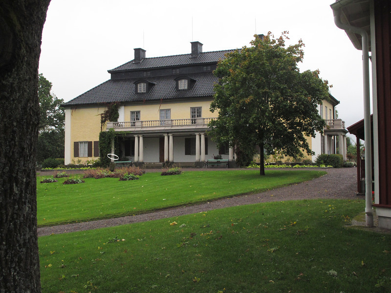 Selma Lagerlöf birthplace, in Östra Ämtervik, in Värmland county.  She was the first female Nobel Literature winner around 1908.  Her books include Gösta Berlings Saga and The Wonderful Adventures of Nils Holgerson...which was popular by elementary school teachers to help teach kids the Swedish georgraphy.