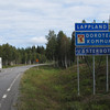 LAPPLAND.....had to photograph it.  And....these types of motor homes...popular where we drove.