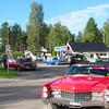 Swedes love old American cars....every Saturday, some locals would gather at this gas station to meet and then they typically would drive North on small paved roads...JUST CRUIZING....for the day.  These are from Torsby...I spoke to two of them about their nice cars.