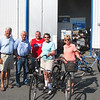 Renting bikes from Sven David's son Tony's business on Hönö Island..to ride to Knippla Island..North about 6 miles for lunch at Bryggeriet restaurant there...And also have Pre Lunch snacks on my cousins boat.