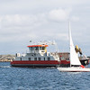 Many small ferries help islanders stay in touch.