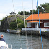We are past the narrowest channel...what a location for your cottage.
