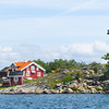 A classic Swedish summer home post card view.