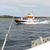 A German Coast Guard boat ? up in Swedish water....
