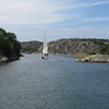 Around this turn...we will soon see MARSTRAND...a Northern Europe sailing port favorite.