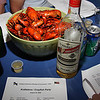 The ingredients to a good KRÄFTSKIVA PARTY :<br /> AQUAVIT, CRAYFISH, SONGSHEET AND LOTS OF PEOPLE WHO LIKE ALL THREE !