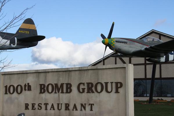 International Christmas Luncheon,100th Bomb Squadron, December 11, 2012