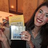 Anna.. happily received Lutfisk recipes and a Swedish songs on a CD !