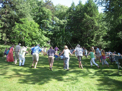 June 15, 2014, Swedish Cultural Society has annual Midsummer party at Van Heeckeren.