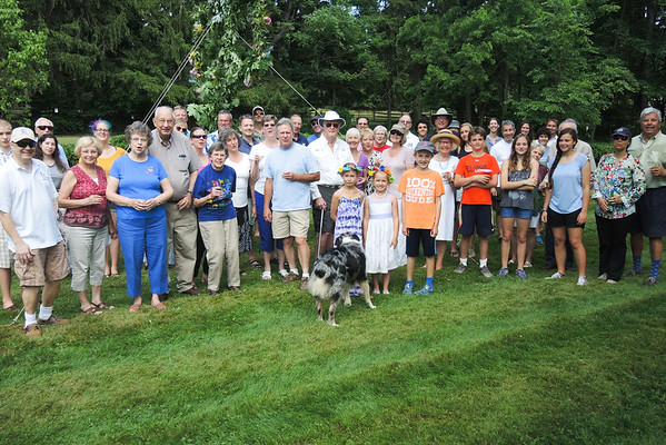 June 19, 2016..SCS Club holds its Midsummer Party at Daniel van Hackeeren's home again.