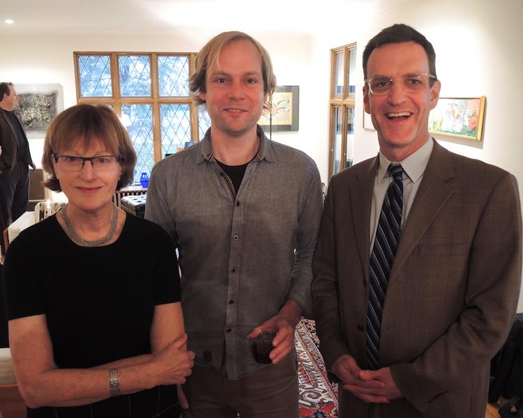 Astri Seidenfeld, Frode Haltli and Tom Welsh