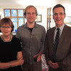 Astri Seidenfeld, Frode Haltli and Tom Welsh