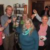 Vanja, Frode, Malou, Sandy, Ing-Britt and Fred... say Skål !